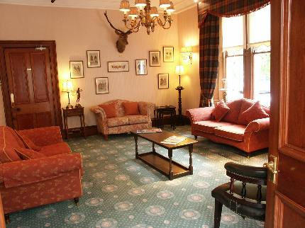 Guest House sitting room, Grantown-on-Spey, HIghlands