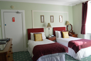room 3 double or twin sized room with superking in grantown on spey, cairngorms