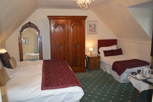 Room 8, triple room grantown on spey
