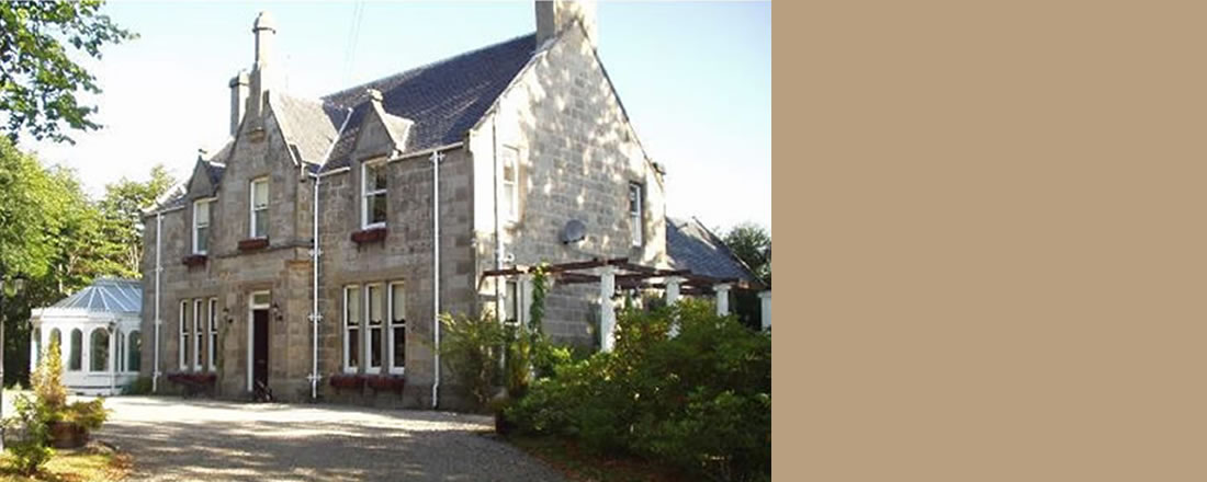 Ravenscourt House, beautiful bed and breakfast in Grantown on Spey